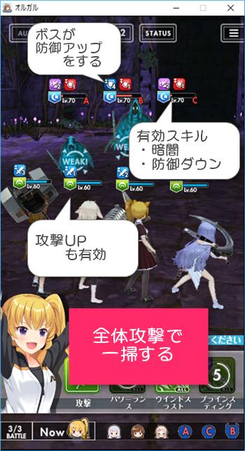 夜獣討伐隊~ファントム編~ボスの弱点