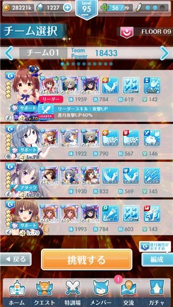 FLOOR9 SSSメンバー