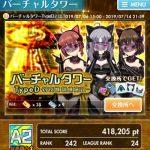【オルガル2】バーチャルタワーTypeD 攻略ポイント&SSSメンバーまとめ 7/6~7/14