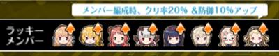 1/19までのラッキーメンバー(ランス・ガン)